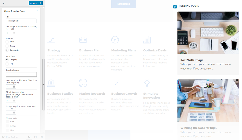 Trending Post Slider And Widget WordPress Plugin