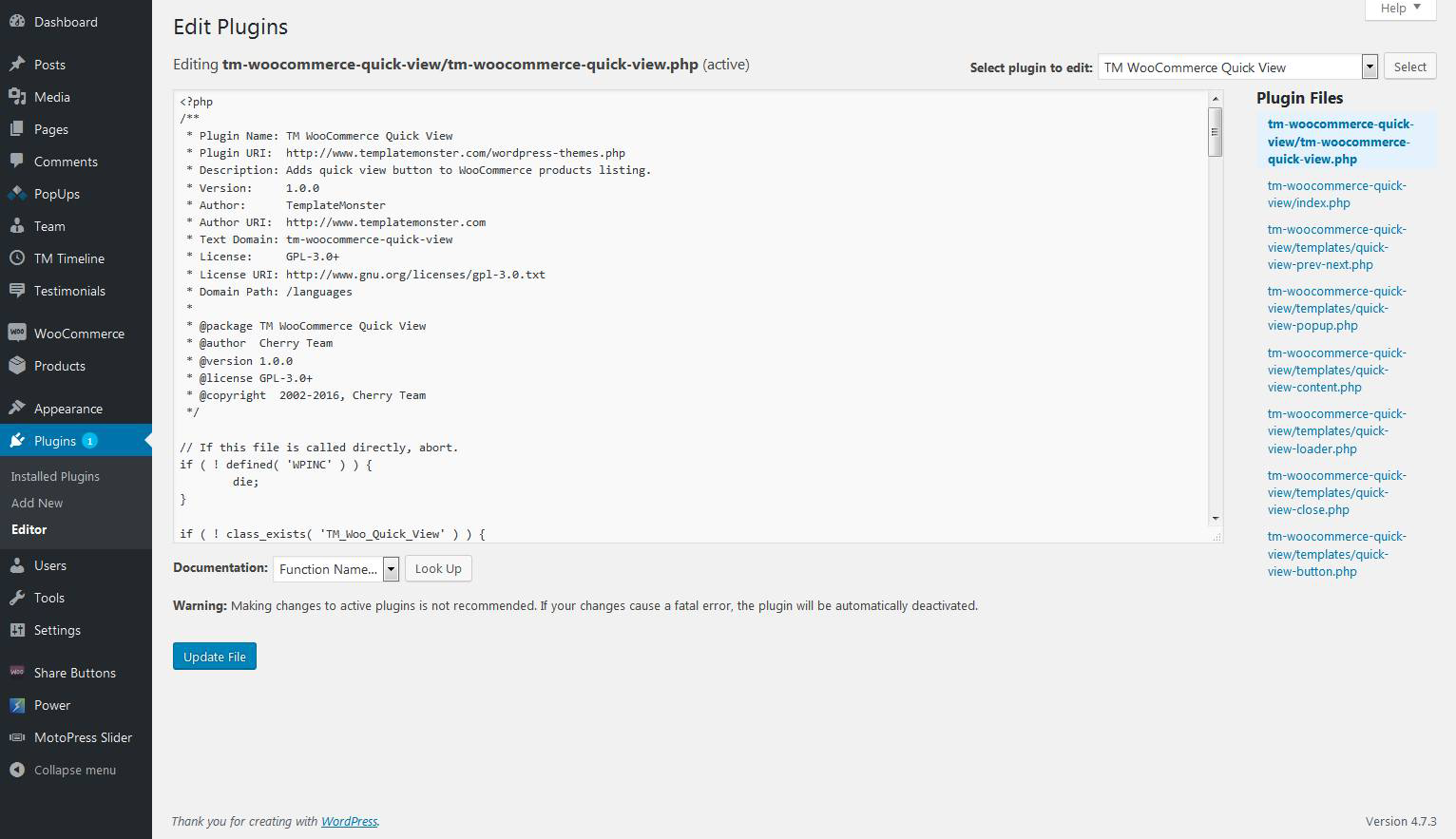 Green Video Wp Content Plugins Cherry Plugin Admin Import