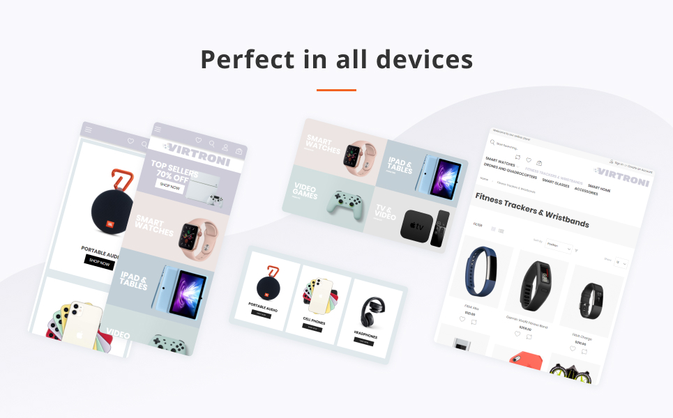 Virtroni - Smart Electronics Store Magento 2 Theme - 4