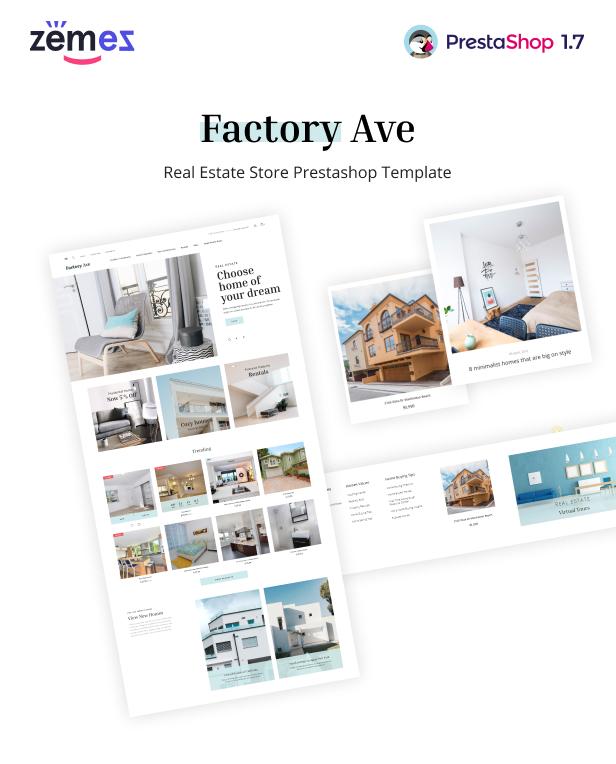 FactoryAve - PrestaShop Real Estate Theme - 1