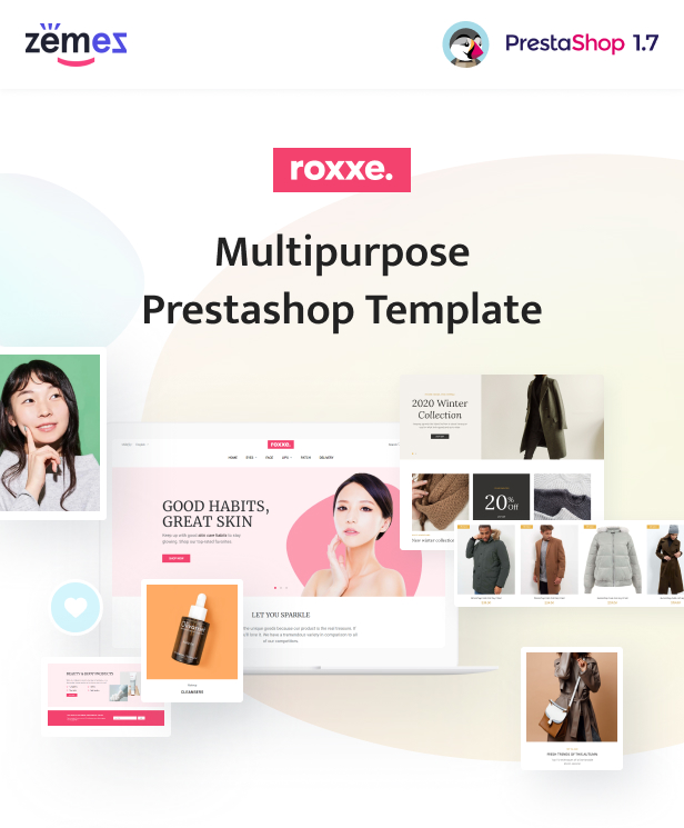 Roxxe - Responsive Multipurpose PrestaShop Theme - 1