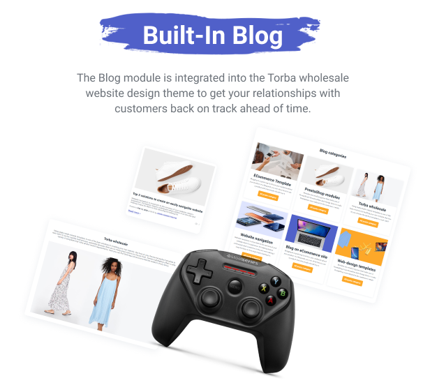 Torba PrestaShop Theme - Wholesale Website Design for Marketplace and Retail - 10