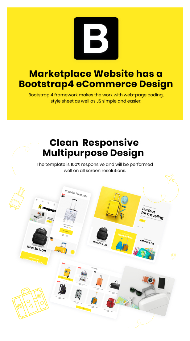Zuggage - Travel Bags Store PrestaShop Theme - 4