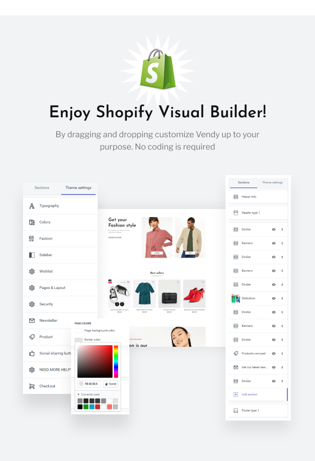 Vendy - Multipurpose Shopify Theme for Fashion - 3