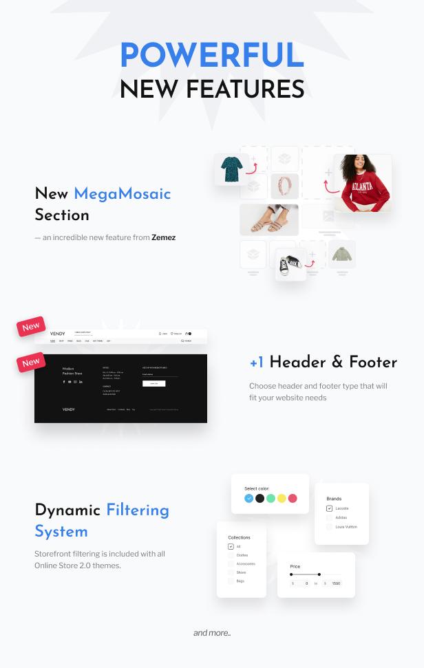 Vendy - Multipurpose Shopify Theme for Fashion - 4