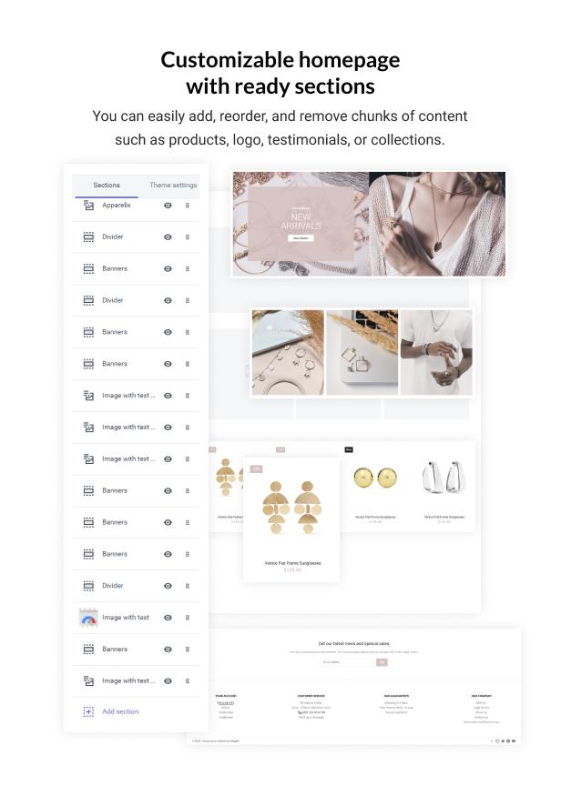 Adore - Shopify Handmade Jewelry Shop Theme - 3