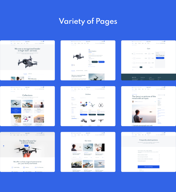 Airy - Drones Store Shopify Theme - 4