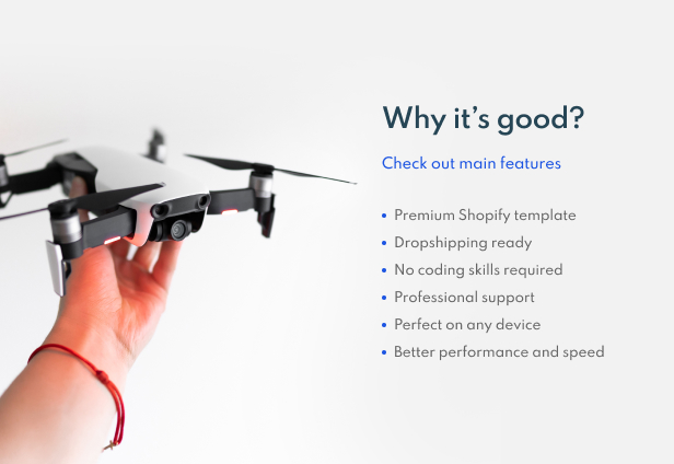 Airy - Drones Store Shopify Theme - 5