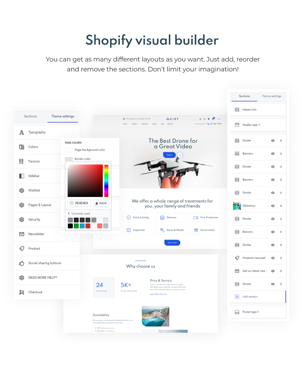 Airy - Drones Store Shopify Theme - 6