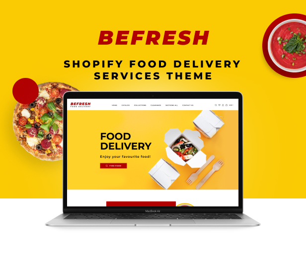 BeFresh - Shopify Food Delivery Services Theme - 2