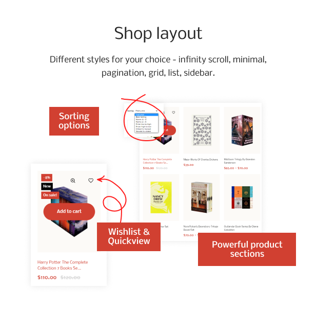 BookWonk - Book Store Shopify Theme - 6