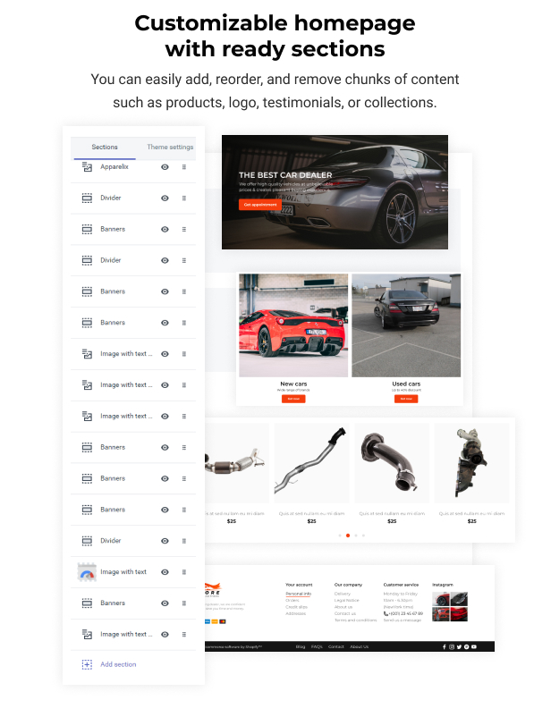Motore - Shopify Car Dealer Theme, Car Selling, Used Car Parts - 2