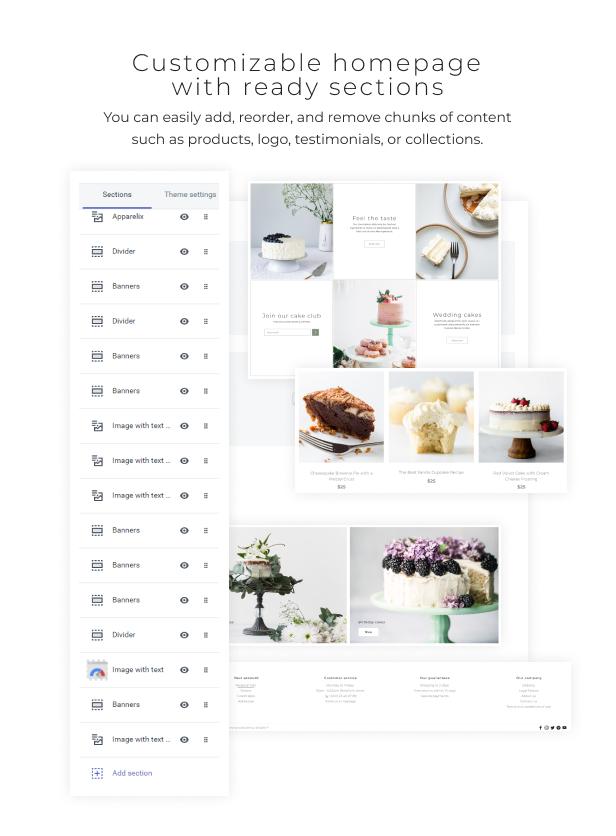 Dessert Rose - Responsive Cake Shop Shopify Theme - 3