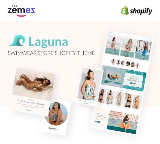 Laguna - Swimwear Store Shopify Theme, Bikini Fashion - 1