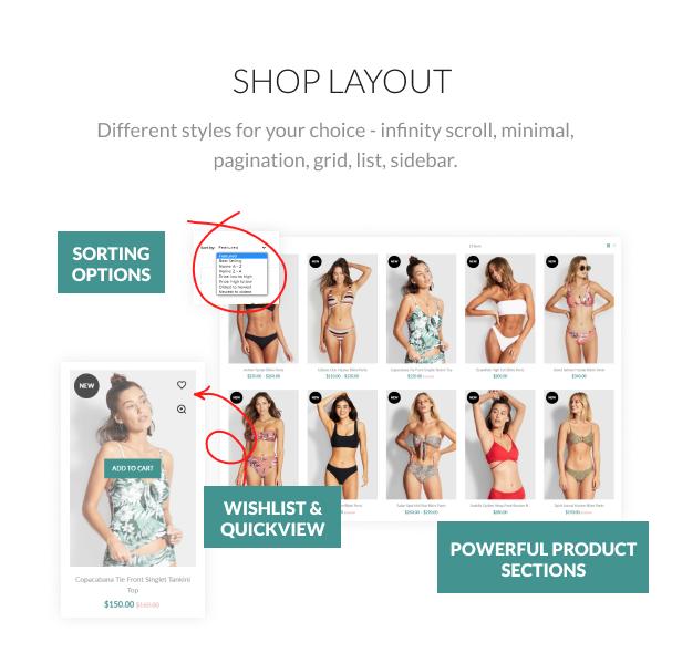 Laguna - Swimwear Store Shopify Theme, Bikini Fashion - 7
