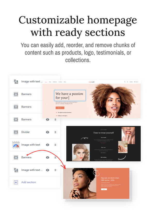 MyLook - Nails and Hair Stylist Shopify Theme - 5