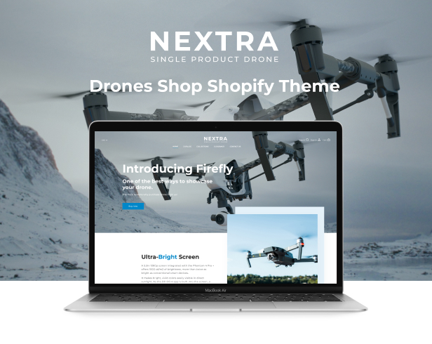Nextra - Single Product eCommerce Shopify Theme, Electronics Store - 2