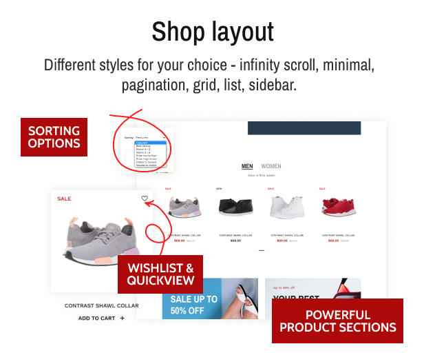 OutFito - Shoes Store Theme Shopify Footwear - 7