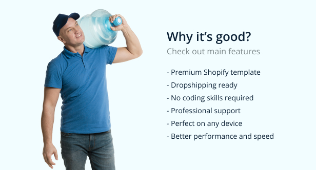Poolar - Shopify Water Delivery Services Theme - 4