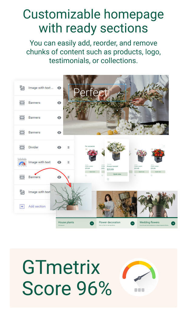 RoseGarden - Shopify Flower Shop Theme - 4