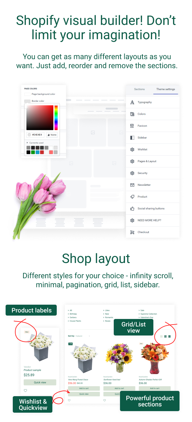 RoseGarden - Shopify Flower Shop Theme - 5