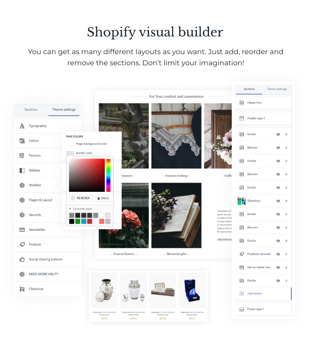 StoneSilent - Funeral Services Shopify Theme - 5
