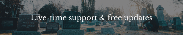 StoneSilent - Funeral Services Shopify Theme - 7