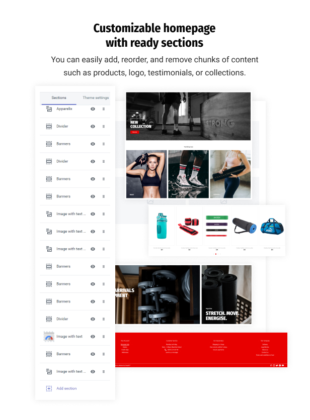 StrongFit - Fitness Club Shopify Theme for Beauty Spa Salon and Wellness Center - 3