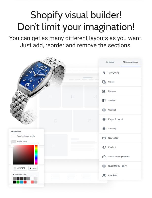 Timiza - Shopify Watch Store Theme - 6
