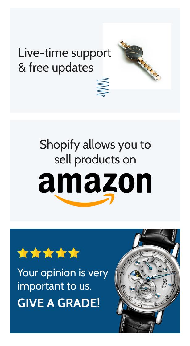 Timiza - Shopify Watch Store Theme - 8