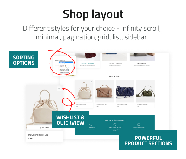 Tote Lab - Fashion Bags Store Shopify Theme - 7
