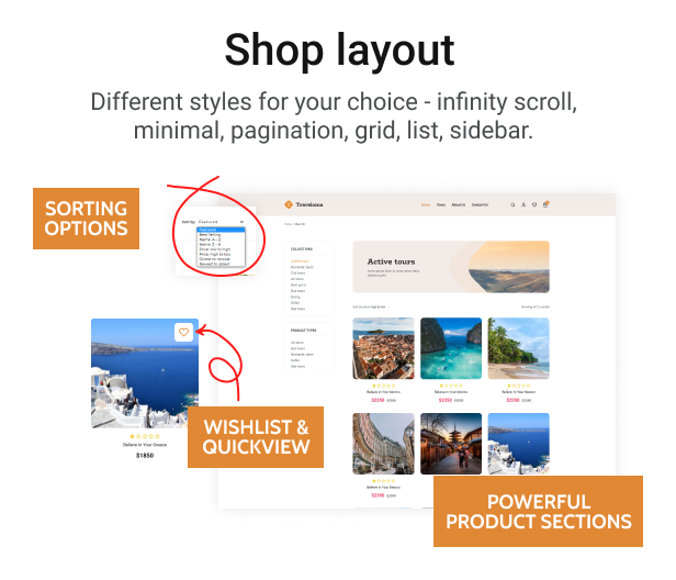 Traveloma - Tour and Travel Shopify Theme - 7