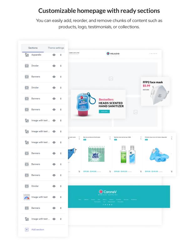 Velazio - Shopify Medical Supplies Responsive Theme - 3