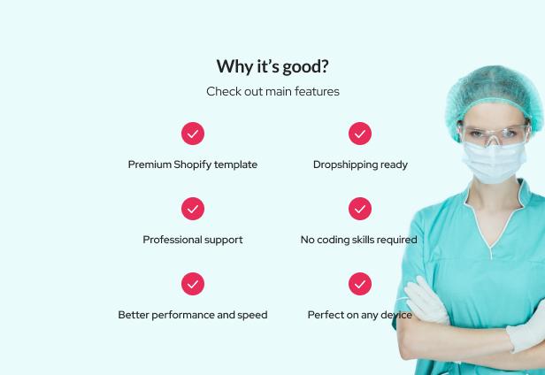 Velazio - Shopify Medical Supplies Responsive Theme - 4
