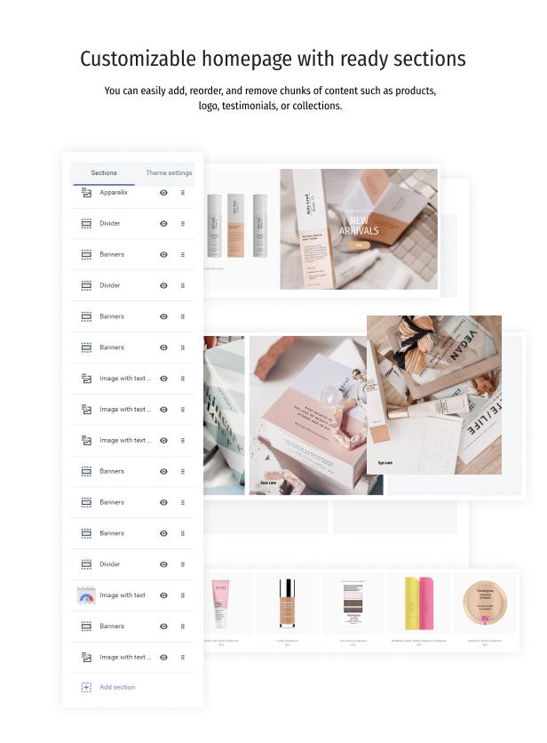 Wellnest - Organic Cosmetics Shopify Theme - 4